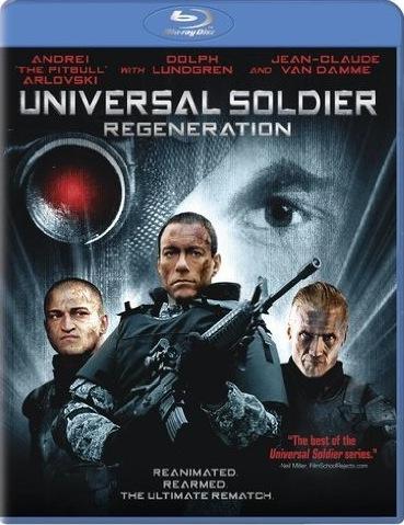 Universal Soldier Regeneration (2009) Blu-ray Movie