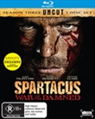 spartacus war of the damned blu ray