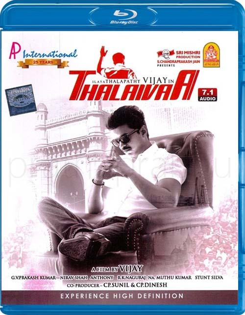 Thalaivaa 2013 Tamil Blu-ray ( Video Song) Remux 1080p AVC DTS-HDMA.5.1