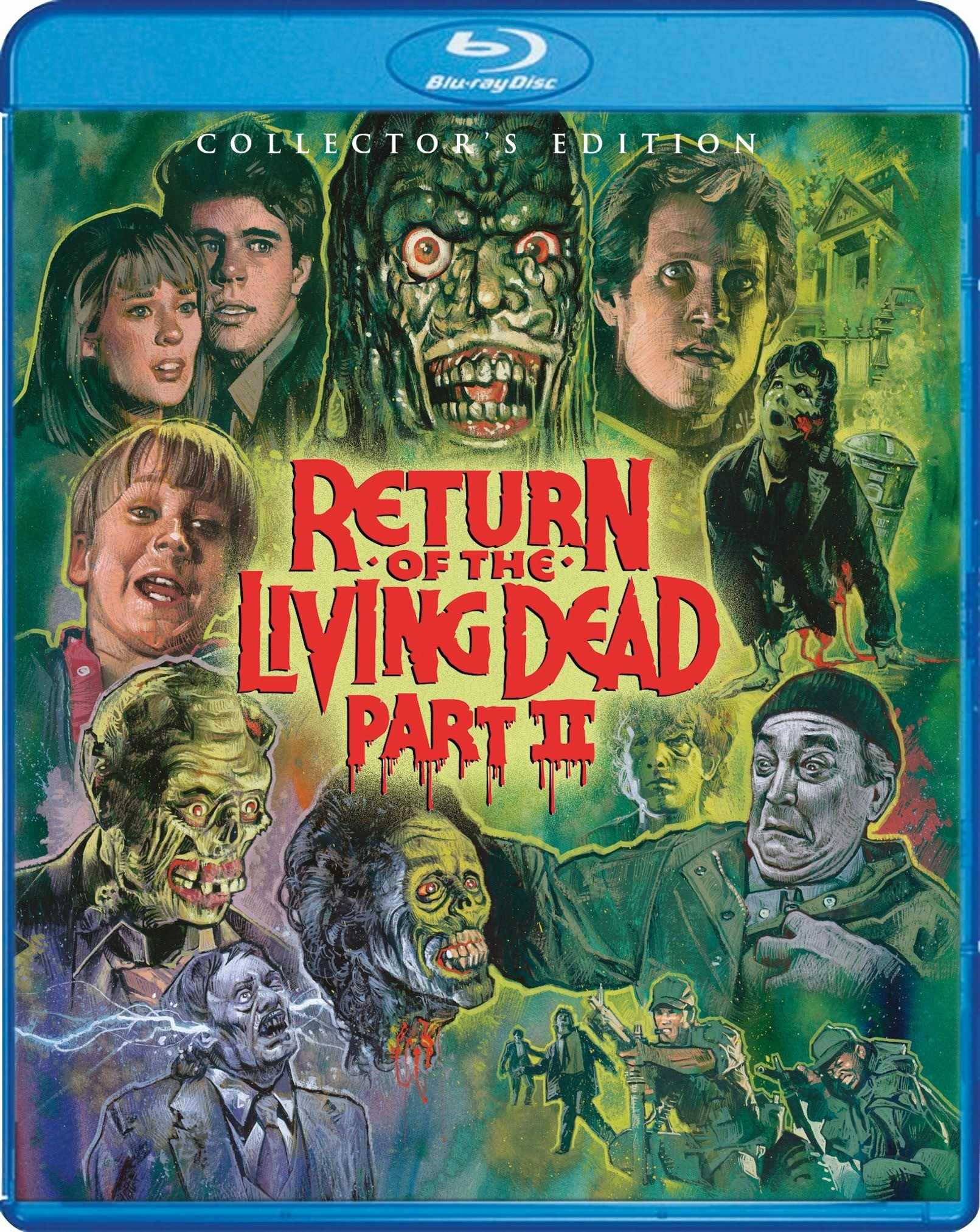 Return of the Living Dead Part II (Collectors Edition)(1988) Blu-ray