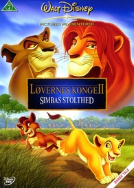 The Lion King 2 Simba S Pride Dvd Release Date June 16 2004 Lovernes Konge Ii Simbas Stolthed Denmark
