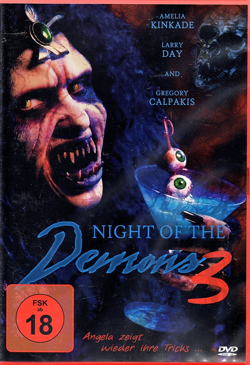 Amelia Kinkade Night Of The Demons night of the demons 3 dvd (germany)