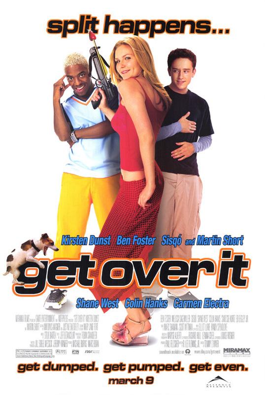 Get over it teen movie poster