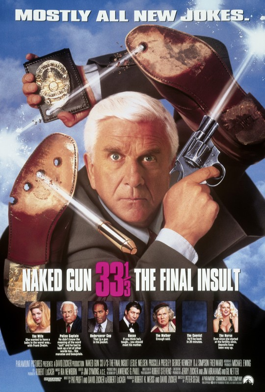 The Naked Gun 33 1/3: The Final Insult (Blu-ray Disc, 2015