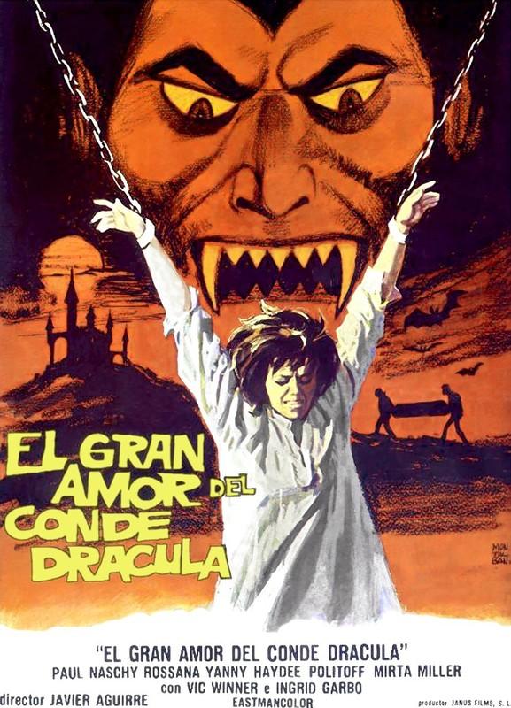 Count Draculas Great Love (Blu-ray Disc, 2016, 2-Disc Set