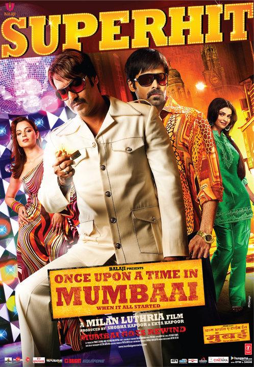 Once Upon a Time in Mumbaai (2010) x264 10-Bit Blu-ray 1080p DTS 5.1 – AC3  5.1   10.7 GB   DB9  