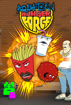 Pity, that Aqua teen hunger force wallpapers