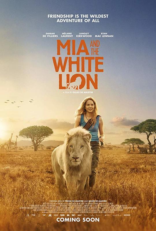 ผลการค้นหารูปภาพสำหรับ Mia and the White Lion (2018) bluray