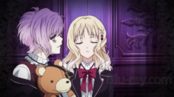 If Theres An Upside To Diabolik Lovers Its Studio Zexcs Evocative Animation Which Uses Color And Shadow Striking Effect