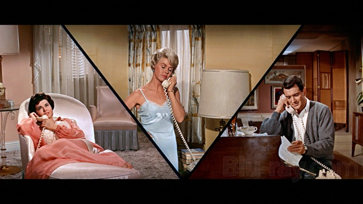 Doris Day And Rock Hudson Romantic Comedy Collection Blu Ray Release Date April 19 2016 Pillow Talk Lover Come Back Send Me No Flowers