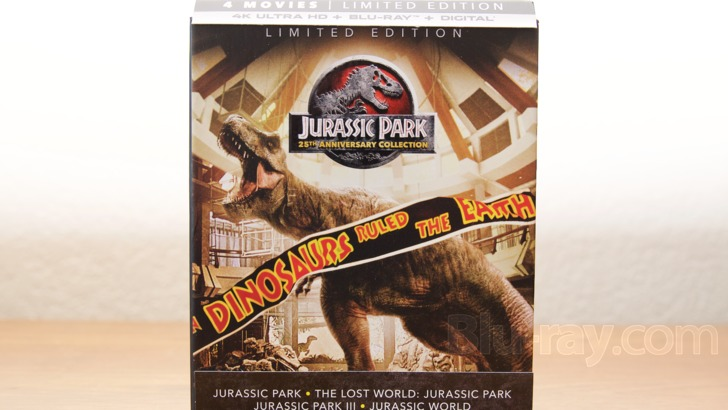 Jurassic Park Collection 4k Blu Ray Release Date May 22 2018 Digibook