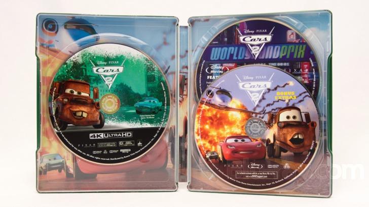 Cars 2 4k Blu Ray Release Date September 10 2019 Best Buy Exclusive Steelbook
