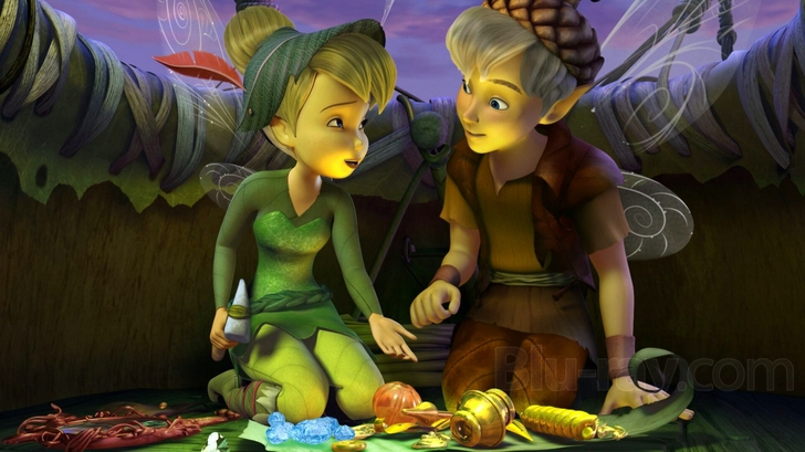 Tinkerbell and the Lost Treasure Blu-ray (Blu-ray + DVD)