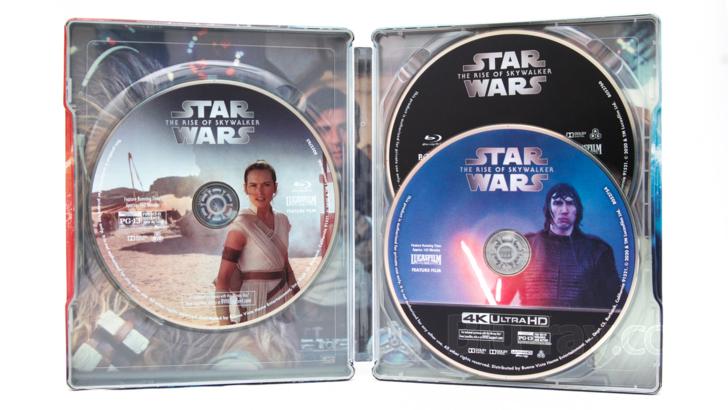 Star Wars Episode Ix The Rise Of Skywalker 4k Blu Ray Release Date March 31 2020 Best Buy Exclusive Steelbook