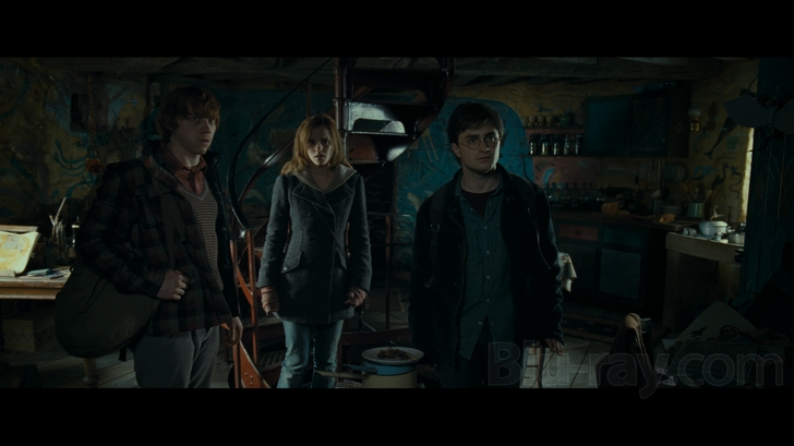 harry potter and the deathly hallows part 1 3d blu ray