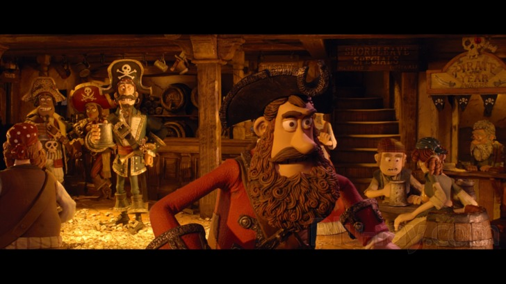 The Pirates Band Of Misfits 3d Blu Ray Release Date August 28 2012 Blu Ray 3d Blu Ray Dvd
