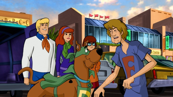 scooby doo and the blue falcon online free