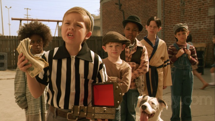 The Little Rascals Save Day Blu-ray (Blu-ray + DVD + Digital HD)